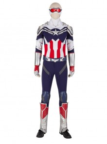 The Falcon And The Winter Soldier Captain America Falcon Sam Wilson Halloween Cosplay Costume Knitting Version Set