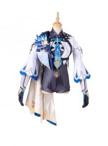 Game Genshin Impact Eula Halloween Cosplay Costume Set
