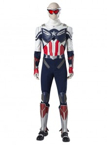 The Falcon And The Winter Soldier Captain America Falcon Sam Wilson Halloween Cosplay Costume Upgrade Version Set