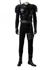 TV Drama Demons Season 2 Geralt Halloween Cosplay Costume Set