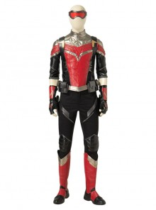 The Falcon And The Winter Soldier Falcon Sam Wilson Black Red Battle Suit Halloween Cosplay Costume Set