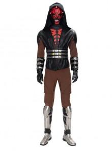 Star Wars The Clone Wars Darth Maul Halloween Cosplay Costume Set