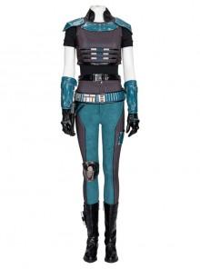 The Mandalorian Cara Dune Battle Suit Halloween Cosplay Costume Set