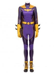 Game Batman Gotham Knights Batwoman Battle Suit Halloween Cosplay Costume Set