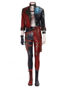 Suicide Squad Kill The Justice League Harley Quinn Halloween Cosplay Costume Set