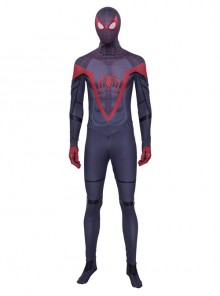PS5 Game Marvel's Spider-Man Miles Morales Battle Suit Halloween Cosplay Costume Set