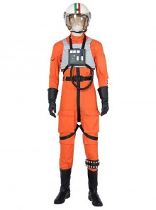 Star Wars Squadrons Fighter flight suit Halloween Cosplay Costume Set