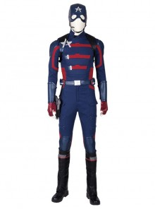 The Falcon And The Winter Soldier U.S.Agent Captain America John F. Walker Halloween Cosplay Costume Set