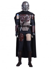 The Mandalorian Halloween Cosplay Costume Full Set Without Helmet
