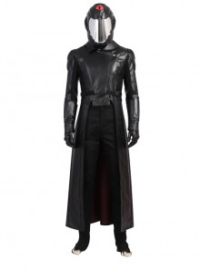 G.I.Joe Retaliation Cobra Commander Black Battle Suit Halloween Cosplay Costume Full Set