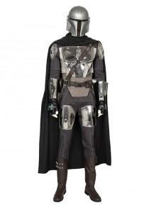 Crisis On Infinite Earths The Mandalorian Halloween Cosplay Costume Set Without Helmet