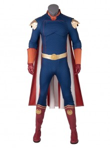 The Boys Homelander Battle Suit Halloween Cosplay Costume Set Without Shoes
