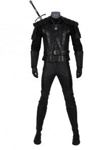 TV Drama The Witcher Gwynbleidd Geralt Of Rivia Halloween Cosplay Costume Full Set