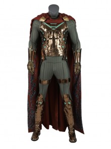 Spider-Man Far From Home Mysterio Battle Suit Halloween Cosplay Costume Full Set