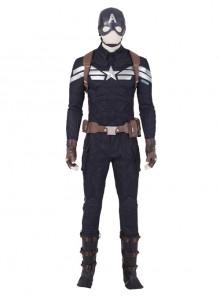 Avengers Endgame Captain America Steve Rogers Pure Color Battle Suit Halloween Cosplay Costume Full Set