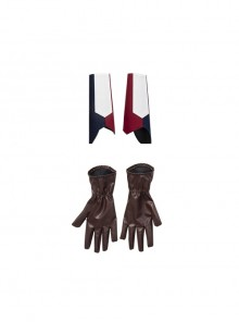 Marvel Animation What If Captain Carter Peggy Carter Halloween Cosplay Accessories Gloves And Wrist Guards