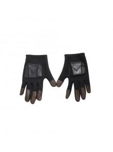 The Mandalorian Season 2 Boba Fett Halloween Cosplay Accessories Black Gloves