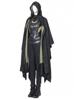 TV Drama Loki Female Loki Sylvie Lushton Halloween Cosplay Costume Upgraded Version Cloak