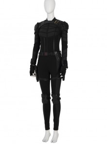 Black Widow Yelena Belova Halloween Cosplay Costume Black Bodysuit