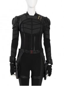 Black Widow Yelena Belova Halloween Cosplay Costume Black Vest Components