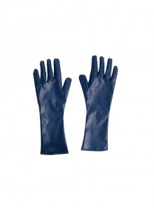 Suicide Squad Peacemaker Christopher Smith Halloween Cosplay Accessories Blue Gloves