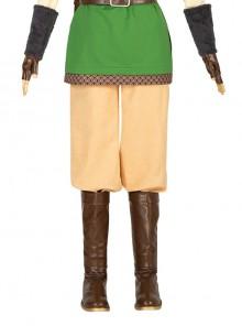 The Legend Of Zelda Skyward Sword Link Halloween Cosplay Costume Yellow Pants