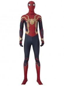Spider-Man No Way Home Peter Parker Iron Spider-Man Battle Suit Halloween Cosplay Costume Full Set