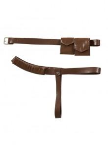 The Legend Of Zelda Skyward Sword Link Halloween Cosplay Accessories Shoulder Strap And Waist Belt And Waist Bags