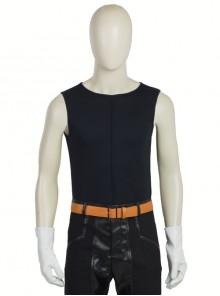 Japanese Anime Fullmetal Alchemist Edward Elric Halloween Cosplay Costume Black Vest