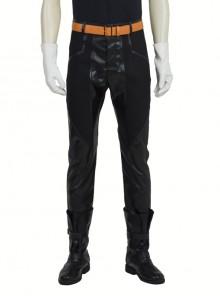 Japanese Anime Fullmetal Alchemist Edward Elric Halloween Cosplay Costume Black Pants
