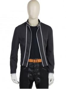 Japanese Anime Fullmetal Alchemist Edward Elric Halloween Cosplay Costume Black Short Jacket