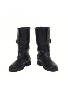 Japanese Anime Fullmetal Alchemist Edward Elric Halloween Cosplay Accessories Black Boots