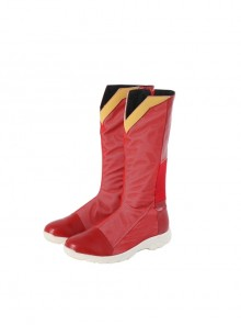 The Flash Season 7 Impulse Bart Allen Halloween Cosplay Accessories Red Boots