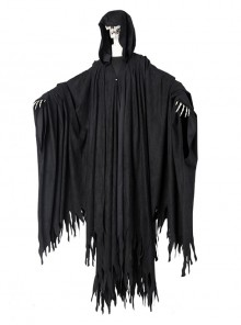 Harry Potter Dementor Halloween Cosplay Costume Black Outer Clothing