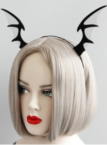 Halloween Gothic Funny Devil Horns Headband Sexy Host Party Hair Accessories