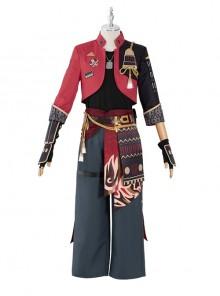 Genshin Impact Thoma Halloween Game Cosplay Costume Full Set
