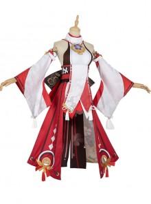 Genshin Impact Yae Miko Halloween Game Cosplay Costume Full Set