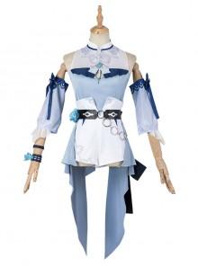 Genshin Impact Jean Gunnhildr Halloween Game Cosplay Costume Sea Breeze Dream Summer Swimsuit Modeling Version Full Set