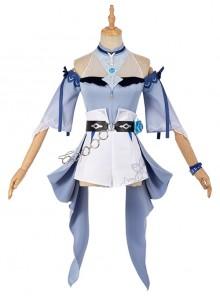 Genshin Impact Jean Gunnhildr Halloween Game Cosplay Costume Sea Breeze Dream Summer Swimsuit Poster Version Full Set