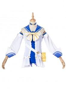 Genshin Impact Barbara Gunnhildr Halloween Game Cosplay Costume Shining Concerto Summer Swimsuit Full Set Without Duck Bag