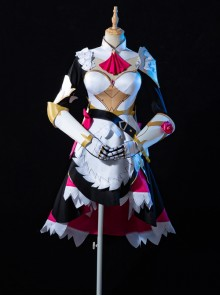 Genshin Impact Noelle Knights Maid Halloween Game Cosplay Costume Full Set