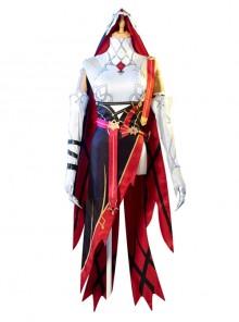 Genshin Impact Rosaria Halloween Game Cosplay Sexy Nun Costume Full Set