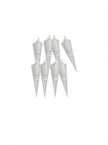 Genshin Impact Rosaria Sexy Nun Halloween Game Cosplay Accessories White Finger-cots
