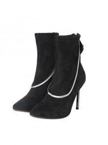 Cruella Black Windbreaker Suit Halloween Cosplay Accessories Black Shoes