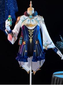 Genshin Impact Sucrose Halloween Game Cosplay Costume Full Set