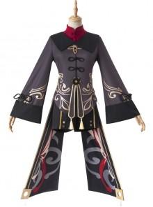 Genshin Impact Hu Tao Halloween Game Cosplay Costume Full Set