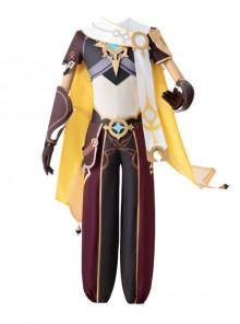Genshin Impact Traveller Male Role Halloween Game Cosplay Costume Full Set