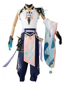Genshin Impact Xiao Halloween Game Cosplay Costume Full Set