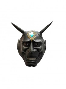 Genshin Impact Xiao Halloween Game Cosplay Accessories Black Mask