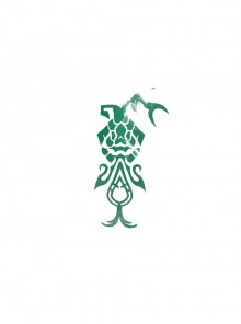 Genshin Impact Xiao Halloween Game Cosplay Accessories Green Tattoo Sticker